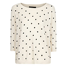 Buy Mango Polka Dot Jumper Online at johnlewis.com