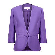 Buy Jacques Vert Royal Occasional Jacket, Purple Online at johnlewis.com