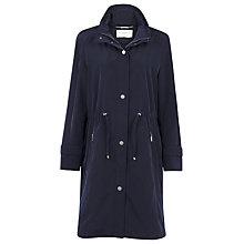 Buy Windsmoor Mid Navy Raincoat, Blue Online at johnlewis.com