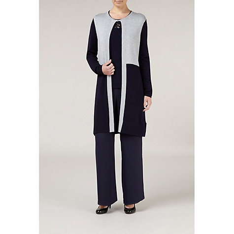 Buy Windsmoor Georgette Trousers, Navy Online at johnlewis.com