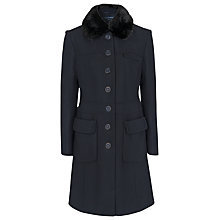 Buy French Connection Fur Collar Coat Online at johnlewis.com
