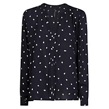Buy Mango Flowy Star Print Shirt Online at johnlewis.com