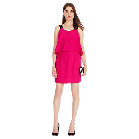 Buy Coast Viera Dress, Fuchsia Online at johnlewis.com