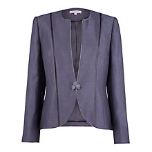 Buy Jacques Vert Twilight Occasional Jacket, Grey Online at johnlewis.com