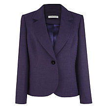 Buy Windsmoor Damson Tailored Jacket, Purple Online at johnlewis.com