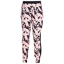 Buy French Connection Vine Bloom Trousers, Blush/Rose/Black Online at johnlewis.com