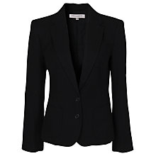 Buy French Connection Apollo Wool Jacket, Black Online at johnlewis.com