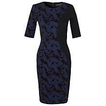 Buy French Connection Bloom Flock Vine Dress Online at johnlewis.com