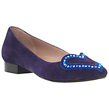 Buy Dune Loveley Suede Pump Shoes Online at johnlewis.com