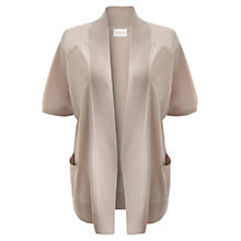 Buy East Short Sleeve Merino Cardigan, Ecru Online at johnlewis.com
