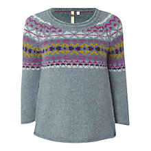 Buy White Stuff Chloe Knit Jumper, Sky Blue Online at johnlewis.com