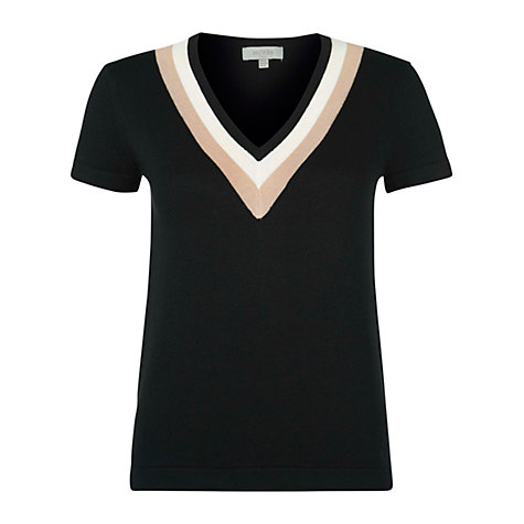 Buy Hobbs Iona Jumper, Black/Multi Online at johnlewis.com