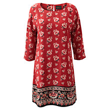 Buy East Scarlet Print Dress, Scarlet Online at johnlewis.com