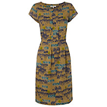 Buy White Stuff Apache Dress, Dark Moss Green Online at johnlewis.com