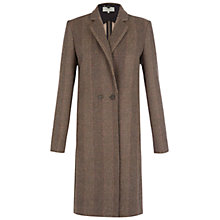 Buy Hobbs Phelia Coat, Oatmeal Online at johnlewis.com