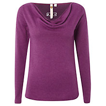 Buy White Stuff Tuk Knitted Top, Purple Haze Online at johnlewis.com