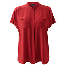 Buy East Oversized Blouse, Scarlet Online at johnlewis.com