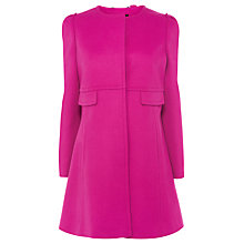 Buy Coast Maeve Coat, Pink Online at johnlewis.com