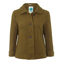 Buy White Stuff Jackie O Swing Coat, Moss Online at johnlewis.com