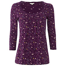 Buy White Stuff Kingdom Top, Deep Purple Haze Online at johnlewis.com