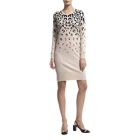 Buy Havren Ocelot Print Dress, Multi Online at johnlewis.com