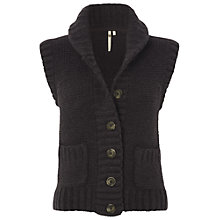 Buy White Stuff Freja Gilet, Steel Online at johnlewis.com