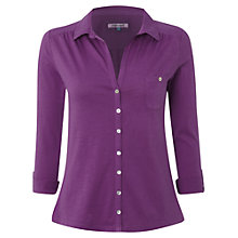 Buy White Stuff Garden Power Shirt, Purple Online at johnlewis.com