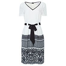 Buy allegra by Allegra Hicks Zoe Dress, Lace Cream Online at johnlewis.com