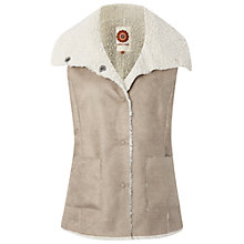 Buy White Stuff Gulliver Gilet, Neutral Online at johnlewis.com
