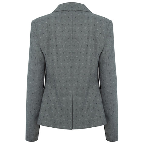 Buy White Stuff Carrie Spotty Blazer, Grey Online at johnlewis.com