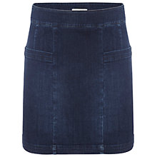 Buy White Stuff Minimal Skirt, Denim Online at johnlewis.com
