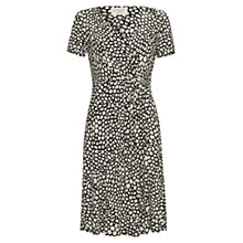 Buy allegra by Allegra Hicks Harper Dress, Dalmatian Black Online at johnlewis.com