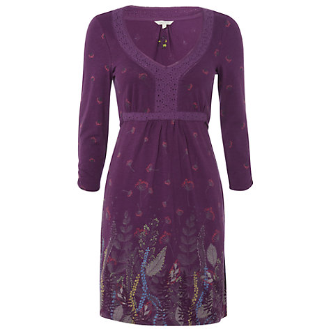 Buy White Stuff Early Autumn Kaftan, Deep Purple Haze Online at johnlewis.com