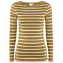 Buy White Stuff Suzie Lou Stripe T-Shirt, Dark Moss Green Online at johnlewis.com