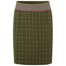 Buy White Stuff Elena Tweed Skirt, Dark Moss Green Online at johnlewis.com