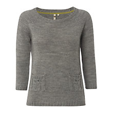 Buy White Stuff Owl Jumper, Neutral Grey Online at johnlewis.com
