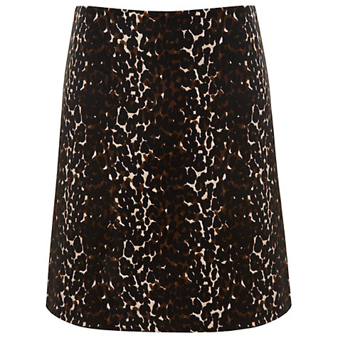 Buy Havren Velvet Animal Print Skirt, Multi Online at johnlewis.com