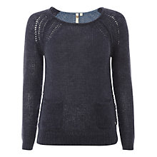 Buy White Stuff Miso Jumper, Sky Blue Online at johnlewis.com