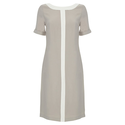 Buy allegra by Allegra Hicks Hailey Dress, Mink Online at johnlewis.com
