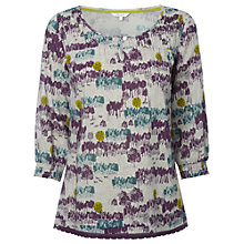 Buy White Stuff Haze Pokahontas Top, Multi Online at johnlewis.com