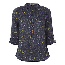Buy White Stuff New Day Top, Blue Online at johnlewis.com