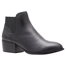 Buy KG by Kurt Geiger Scout Ankle Boots, Black Online at johnlewis.com