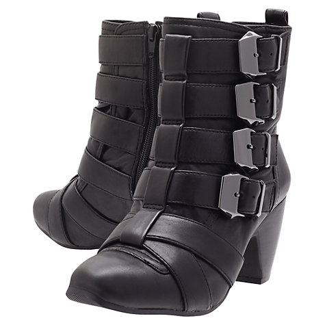 Buy KG by Kurt Geiger Sundance Ankle Boots, Black Online at johnlewis.com
