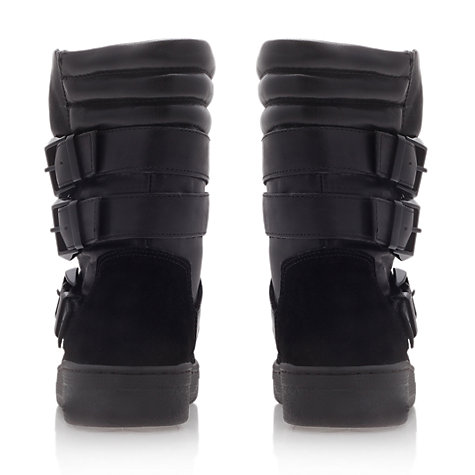 Buy KG by Kurt Geiger Top Ankle Boots, Black Online at johnlewis.com