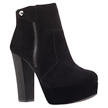Buy KG by Kurt Geiger Spruce Ankle Boots, Black Online at johnlewis.com