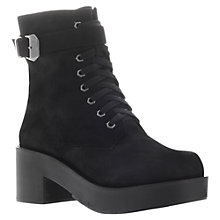 Buy KG by Kurt Geiger Utopia Ankle Boots, Black Online at johnlewis.com