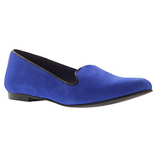 Buy KG by Kurt Geiger Lexie Loafers, Blue Online at johnlewis.com