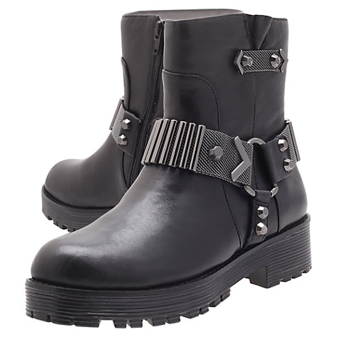 Buy Kurt Geiger Take Ankle Boots, Black Online at johnlewis.com