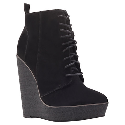 Buy KG by Kurt Geiger Solar Ankle Boots, Black Online at johnlewis.com