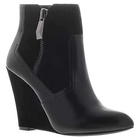 Buy KG by Kurt Geiger Sangria Ankle Boots, Black Online at johnlewis.com